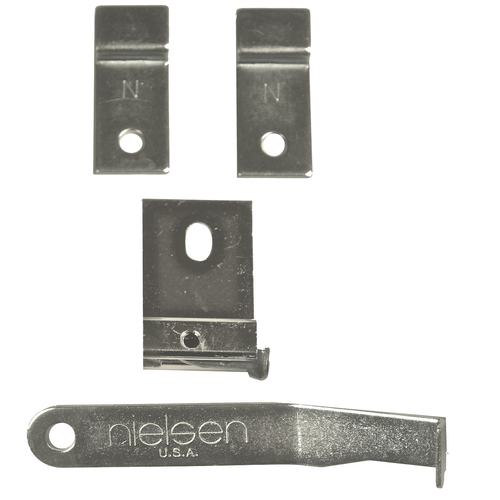 Nielsen metal frame security hanger