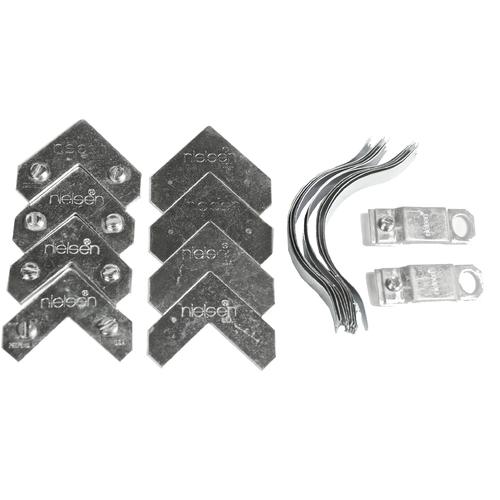 Nielsen metal frame hardware