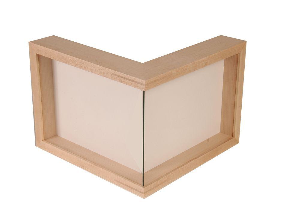 Prototype custom corner frame front view