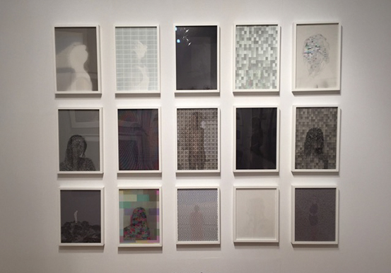 Matthew Swarts at Miami Project 2014 Art Basel