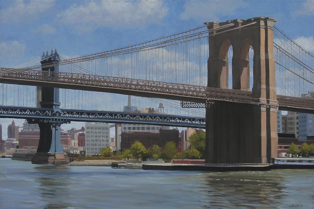 Brooklyn Bridge, 20x30