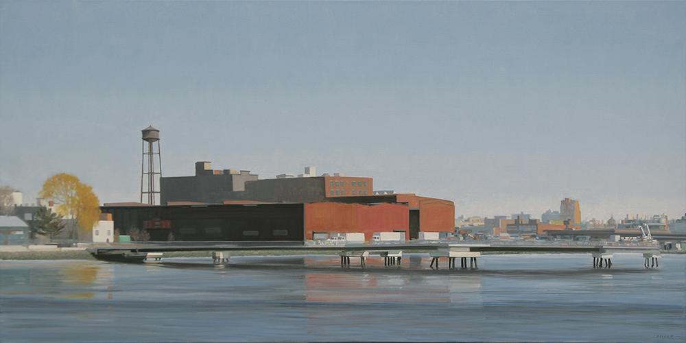 Greenpoint Reflections, 30x60