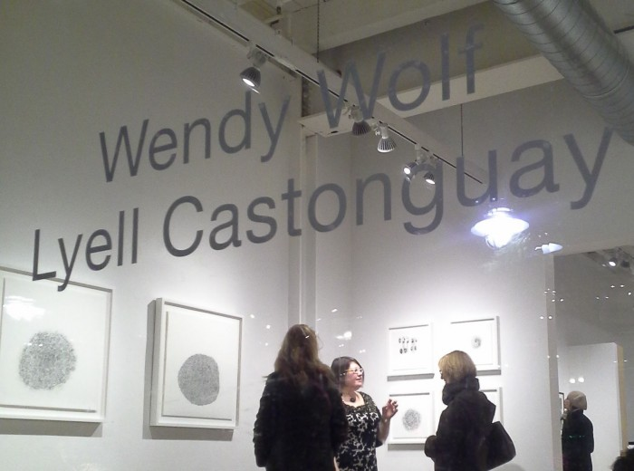 "Wendy Wolf ""Examined Repetition""  Bromfield Gallery"