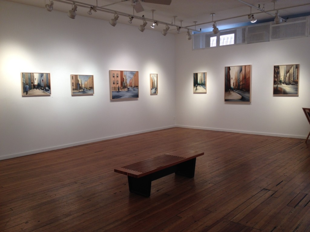 Katie Weiss at Prince Street Gallery in Chelsea