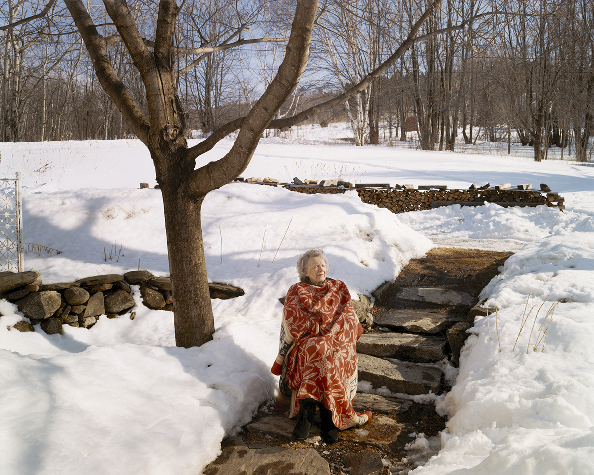 "Virginia Beahan ""First Day of Spring"" Lyme, NH, 2005"