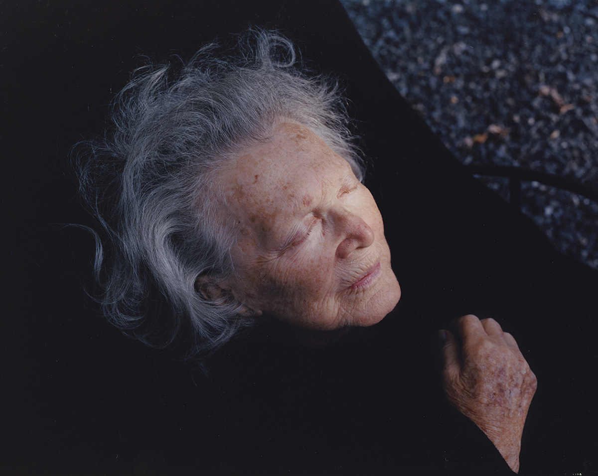 "Virginia Beahan ""Gram in Black"""