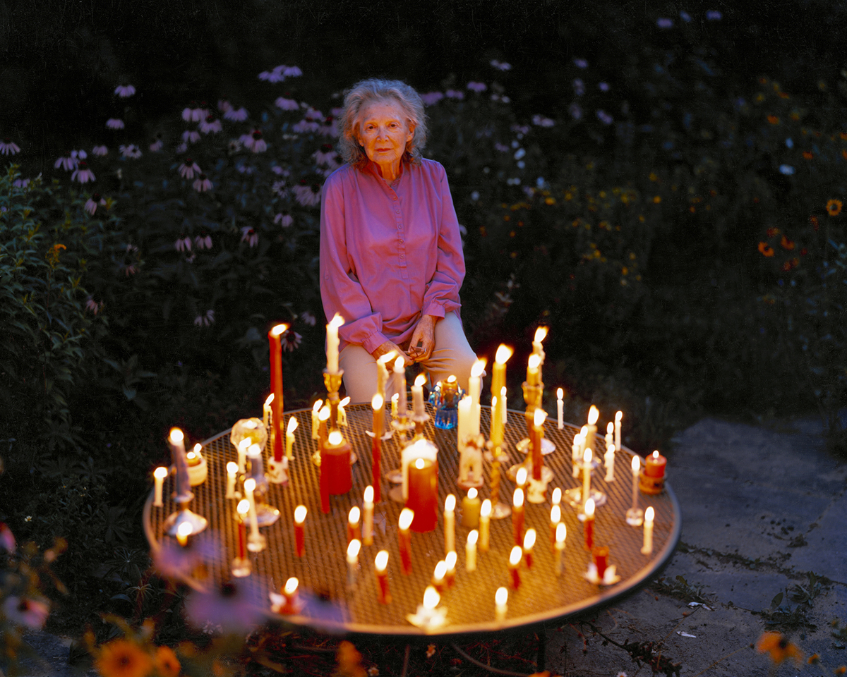 Virginia Beahan (American, born 1946), Celebrating My Mother's 90th Birthday, Lyme, NH, 2003, chromogenic development print, 20 x 24 inches, Courtesy of the artist