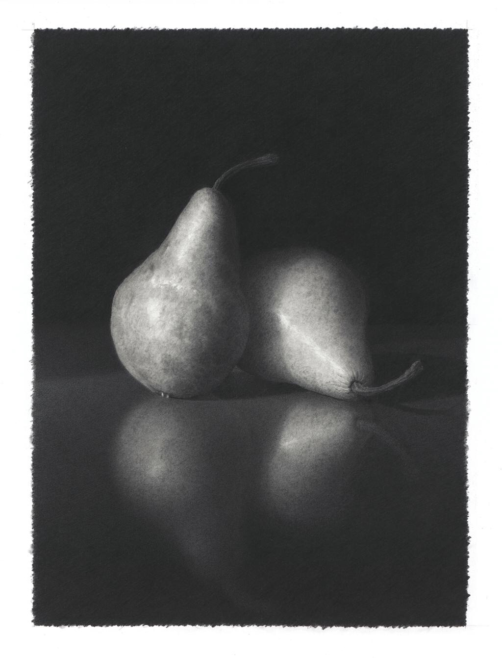 "Skip Steinworth ""Two Pears"" 14"" x 10"""