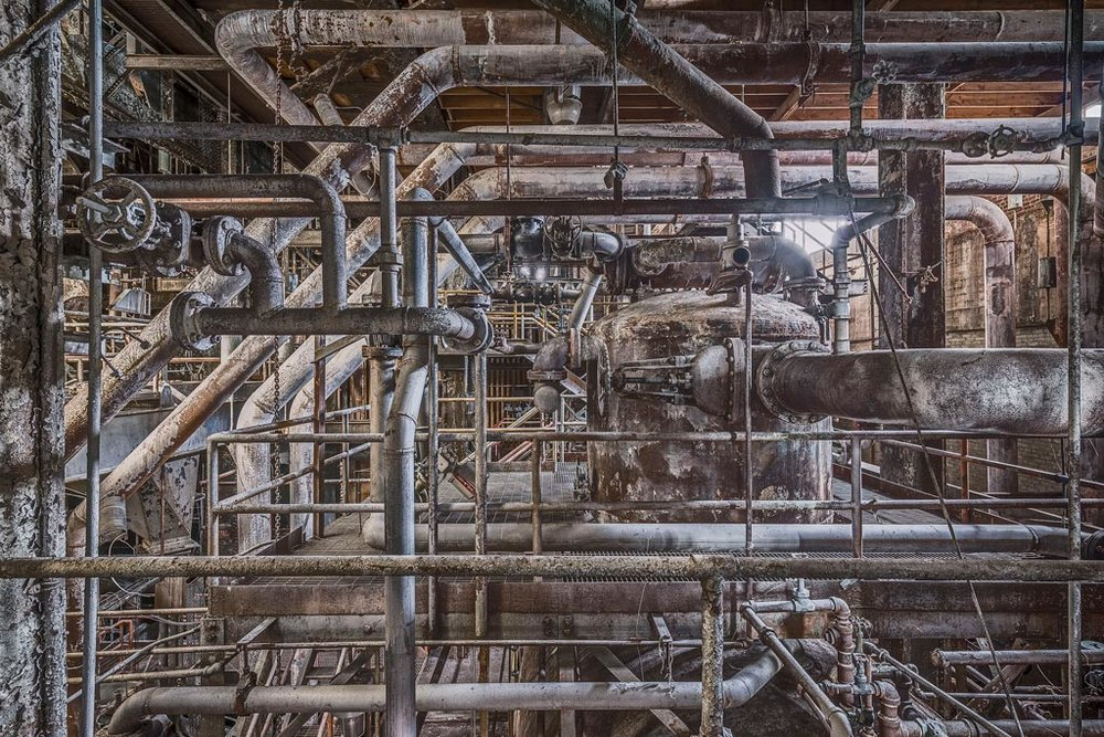 Sweet Ruin Boiler Pipes © Paul Raphaelson Photography