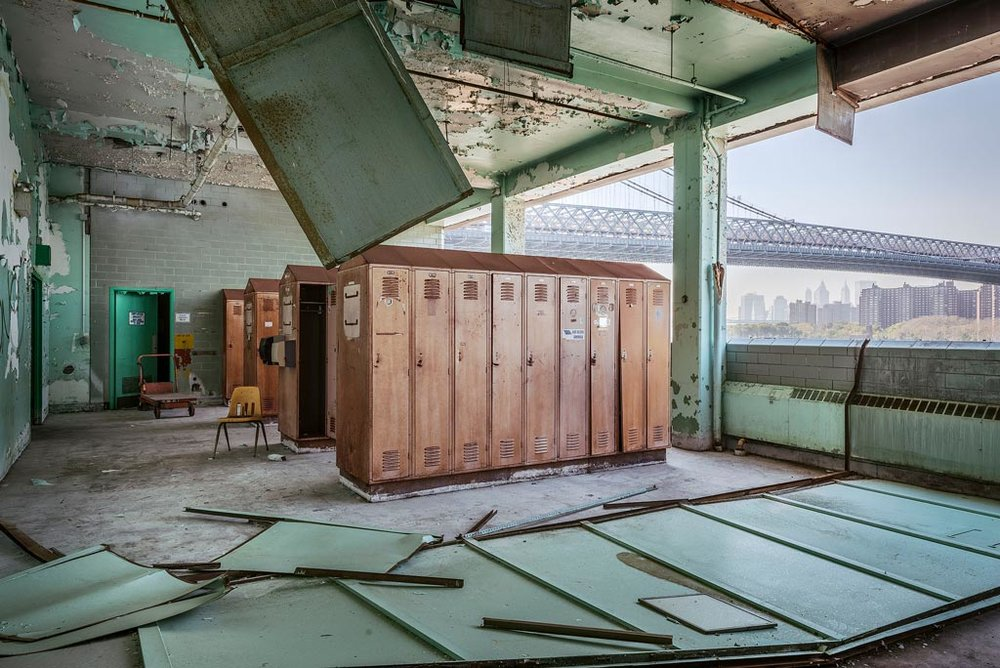 Sweet Ruin Package House Lockers © Paul Raphaelson Photography