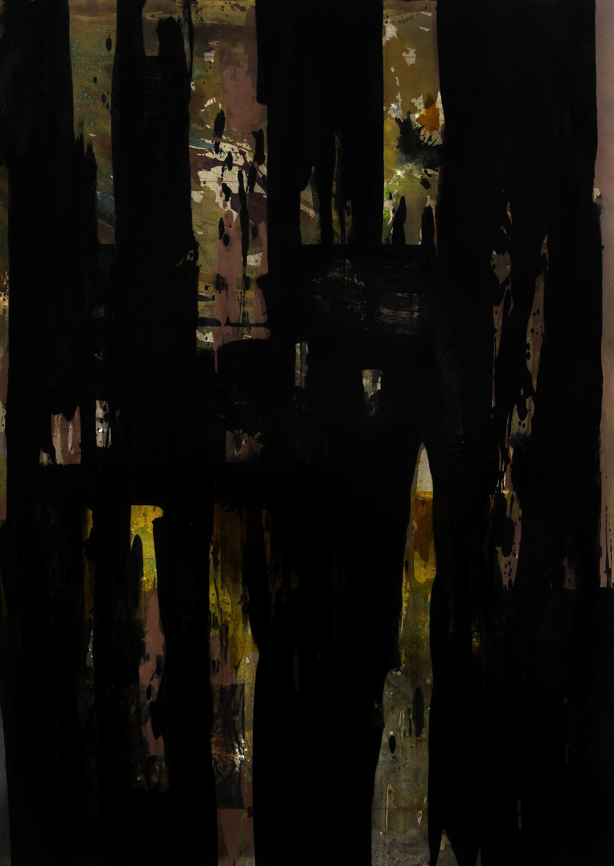 """Tawadi II"" 2017 Oil on linen 70 x 50 inches"