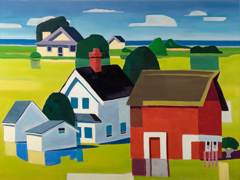 "David Ridgway ""Islandia"" 30x40 Oil on Canvas"