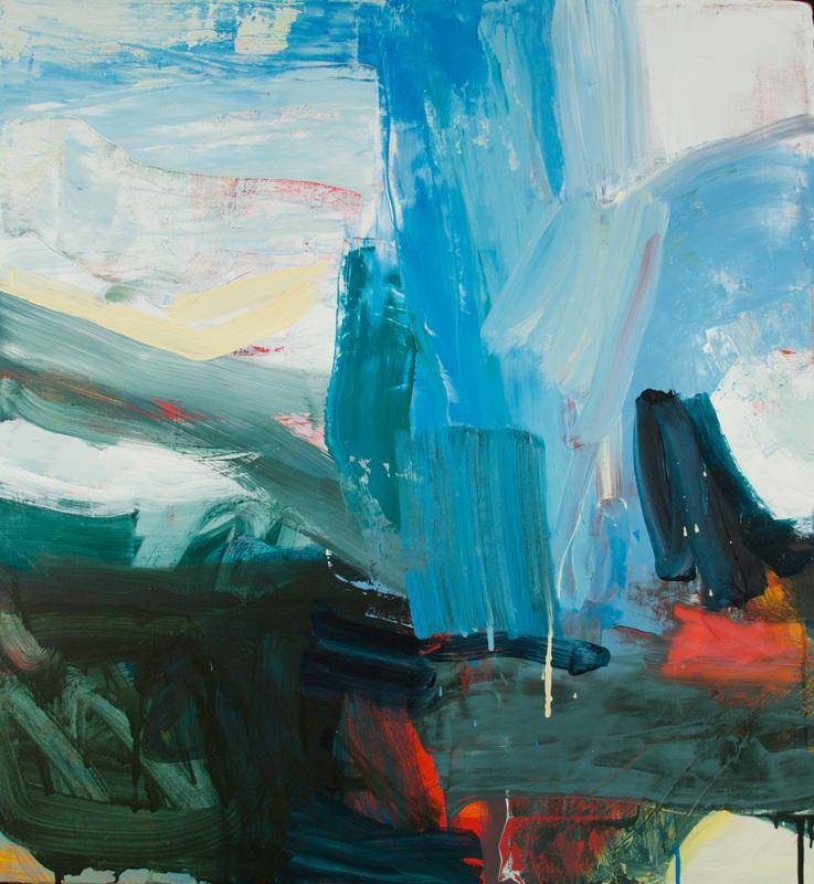 "Michael Rich, ""Moksha"", Oil and wax on canvas, 28"" x 26"", 2016"