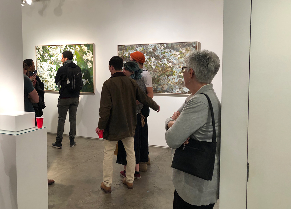 Jeffrey Vaughn, reception 2A George Billis Gallery, 5_2_19