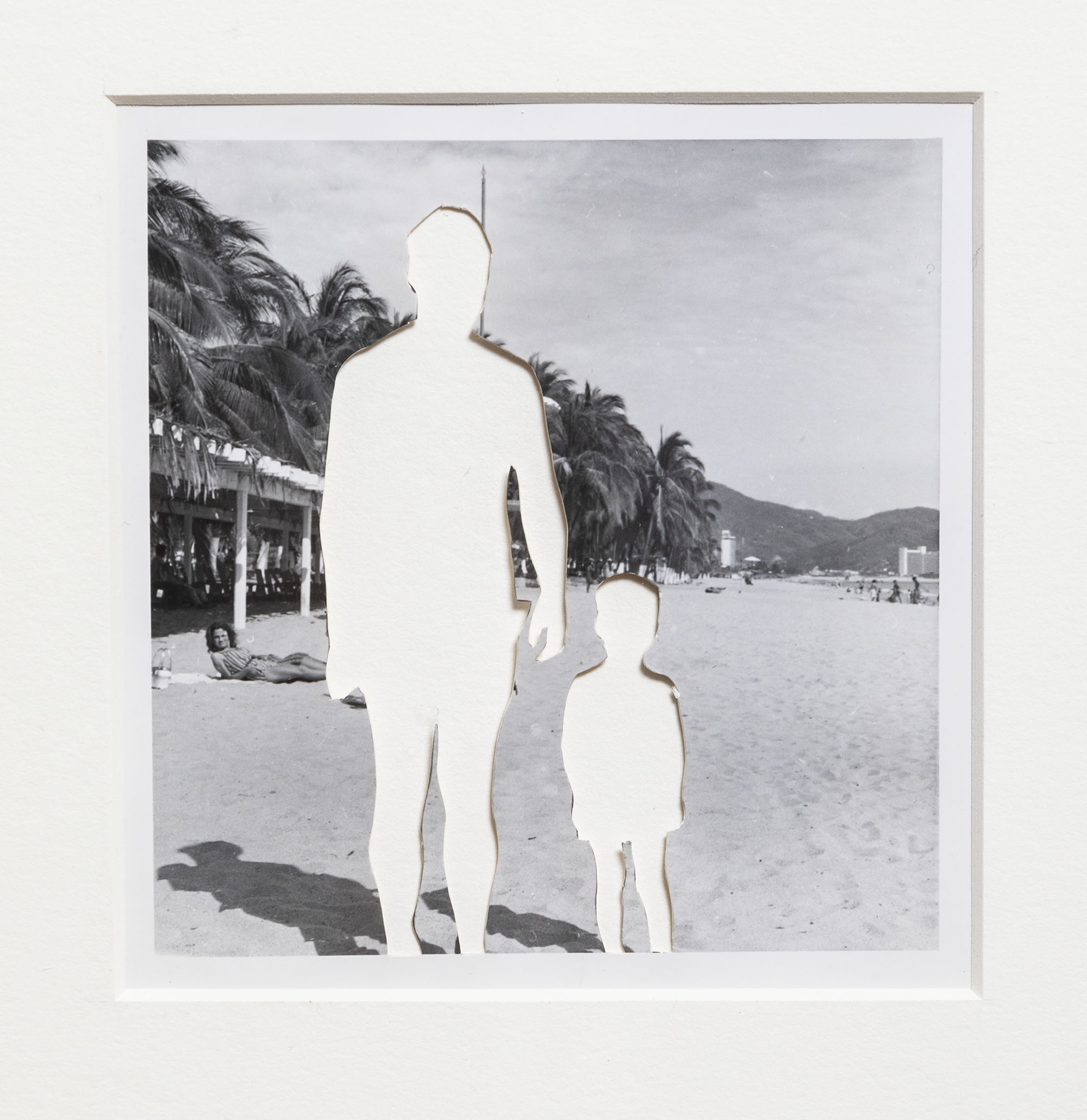 StudioSession-901.jpg Alejandro Cartagena (Mexican, b. Dominican Republic, b. 1977). Detail from Vacaciones familiares (después Roma) / Family Vacation (after Roma), 2019. Altered gelatin silver print. Courtesy of the artist. © Alejandro Cartagena