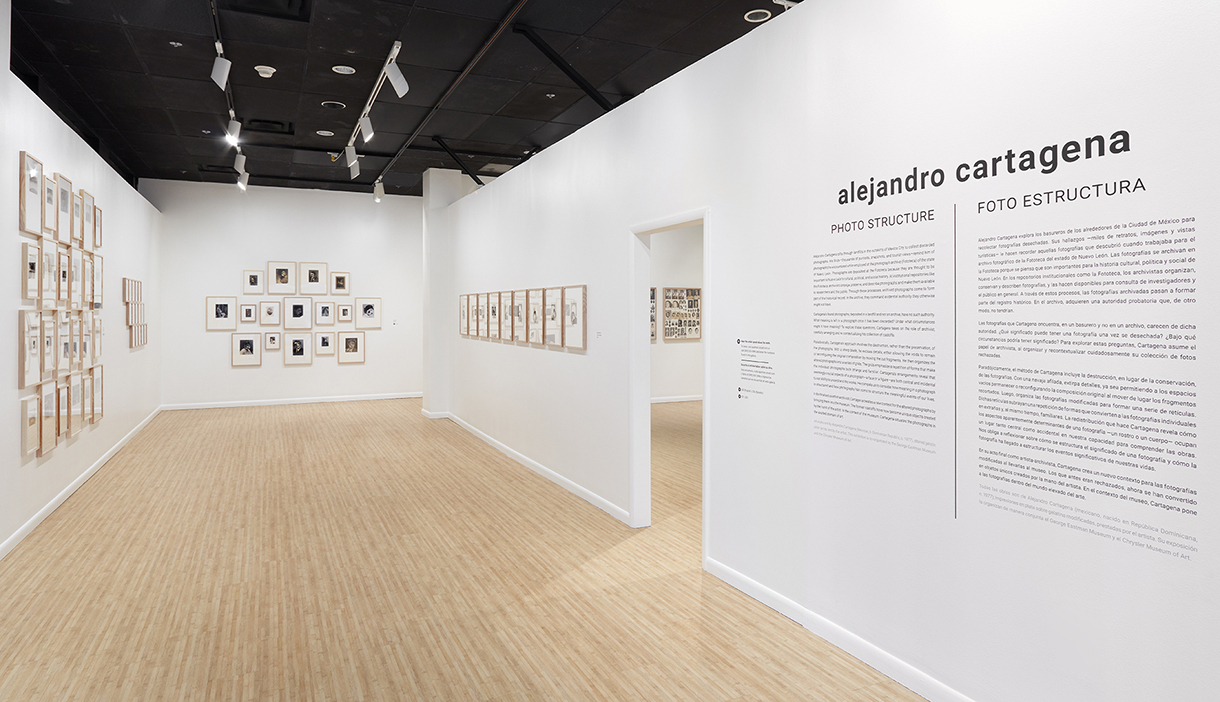 ALEJANDRO CARTAGENA: PHOTO STRUCTURE / FOTO ESTRUCTURA January 31, 2020 - June 28, 2020 George Eastman Museum, Rochester, NY