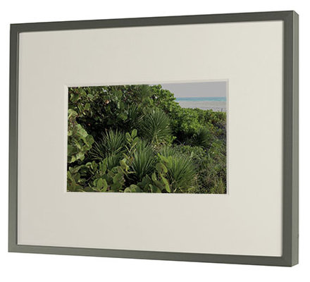 custom cut museum mat - Metal Photo Frames