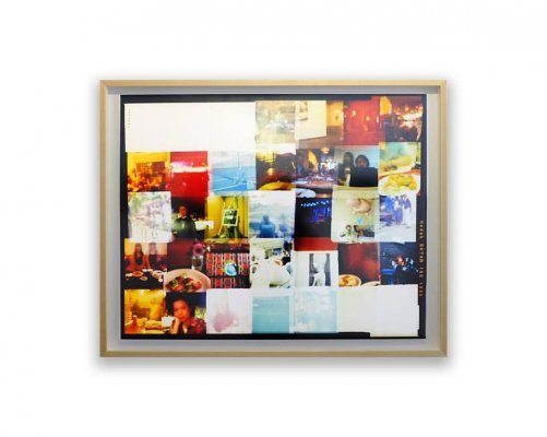 modern wood picture frames. Custom Floating Picture Frame With Spacer Modern Wood Frames