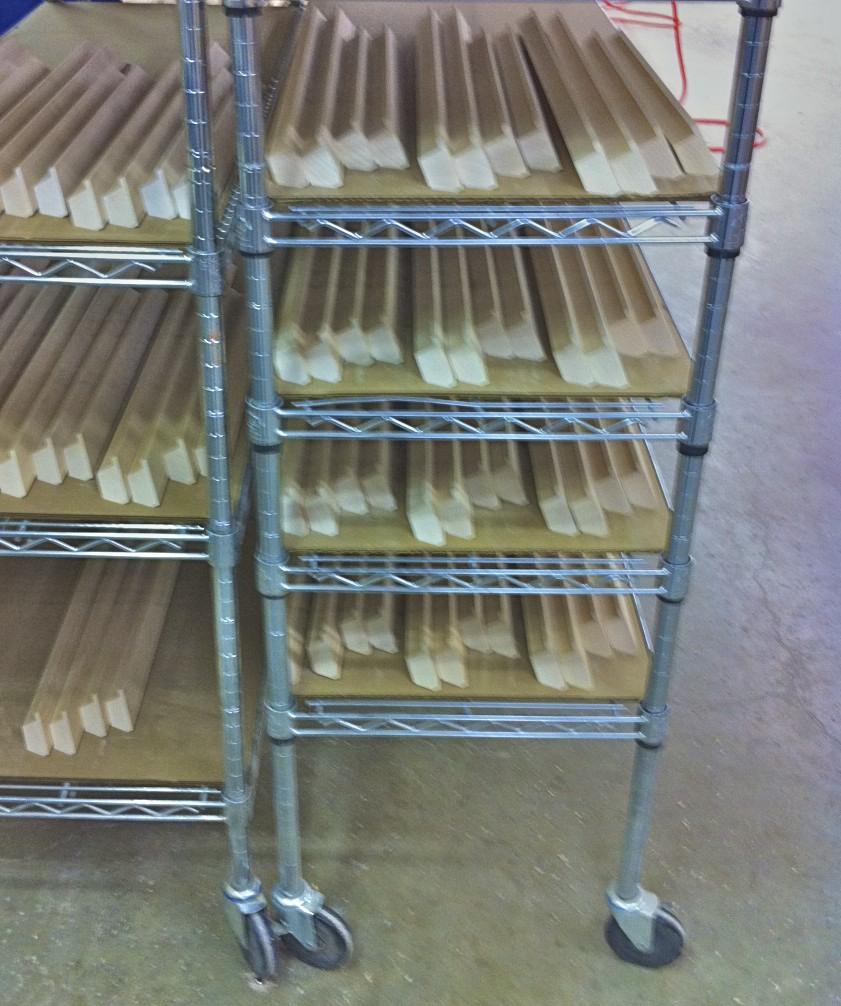 cart cut frames