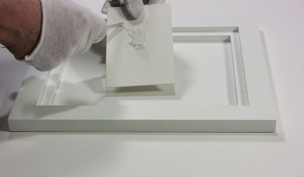 Attaching paintings to panel frames | Metropolitan Picture Framing