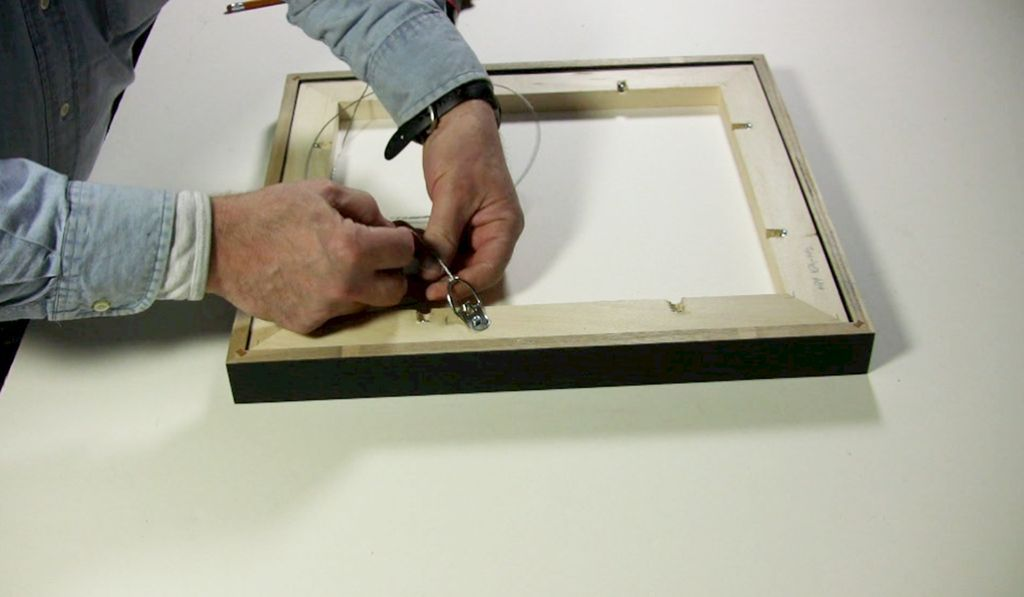 Attaching Strap Hangers Wire Bumpers Metropolitan Picture Framing
