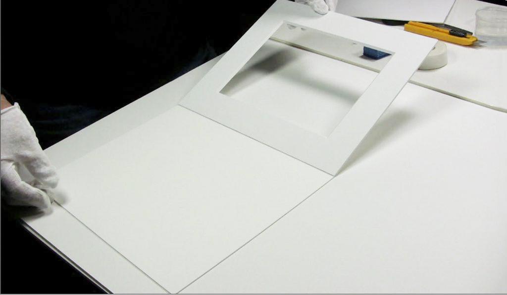 Custom Cut 4 & 8 ply museum mats Custom Frame Mats