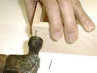 Some Customers Prefer Also Using Nails. After The Glue Dries, You Can Drill  A Pilot Hole And Nail The Frames.You Can Then Counter Sink The Nail And  Fill ...