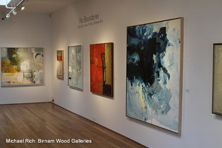 "Michael Rich ""No Boundaries"" Birnam Wood Galleries New York, NY"