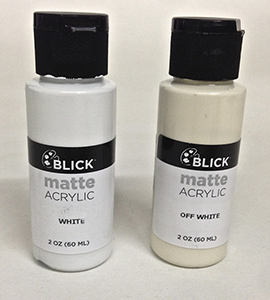 acrylic paints touch up material