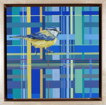 Artist: Jennifer Bain - Very Deep Floater Frame with Cradle