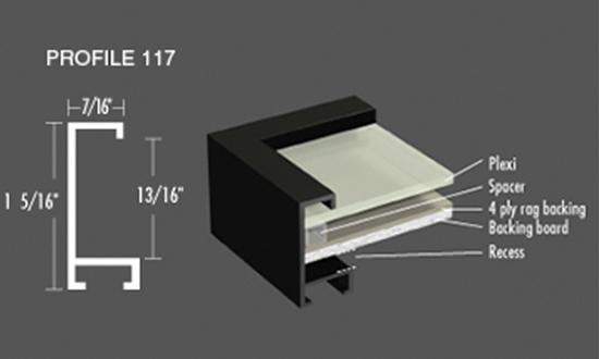 Nielsen Frame - Profile 117 Metal Picture Frames