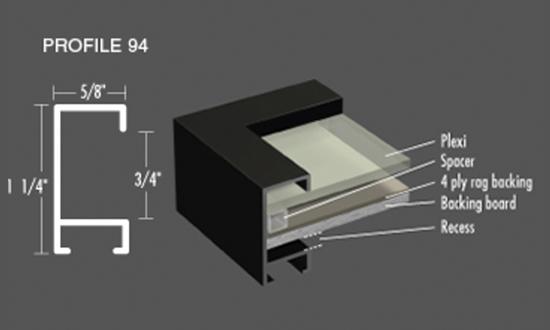 Nielsen Frame - Profile 94 Metal Picture Frames
