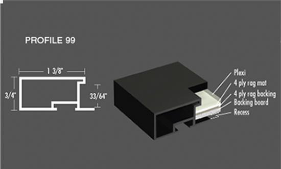 Nielsen Frame - Profile 99 Metal Picture Frames