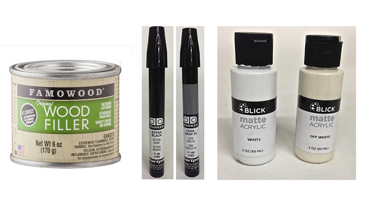touch up materials