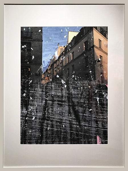 """Rue de Buci 1"", 2017, archival pigment print, 29"" x 21.5"" © Herman Mhire"