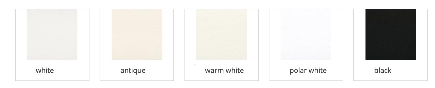 mat colors